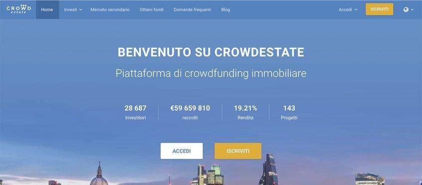 Crowdestate dove investire i soldi