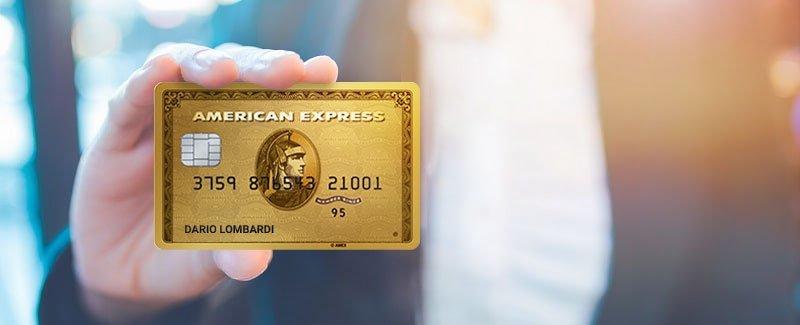 Carta American Express Oro
