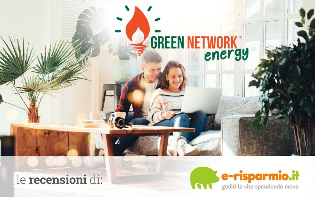 Green network luce e gas: opinioni, recensioni e offerte