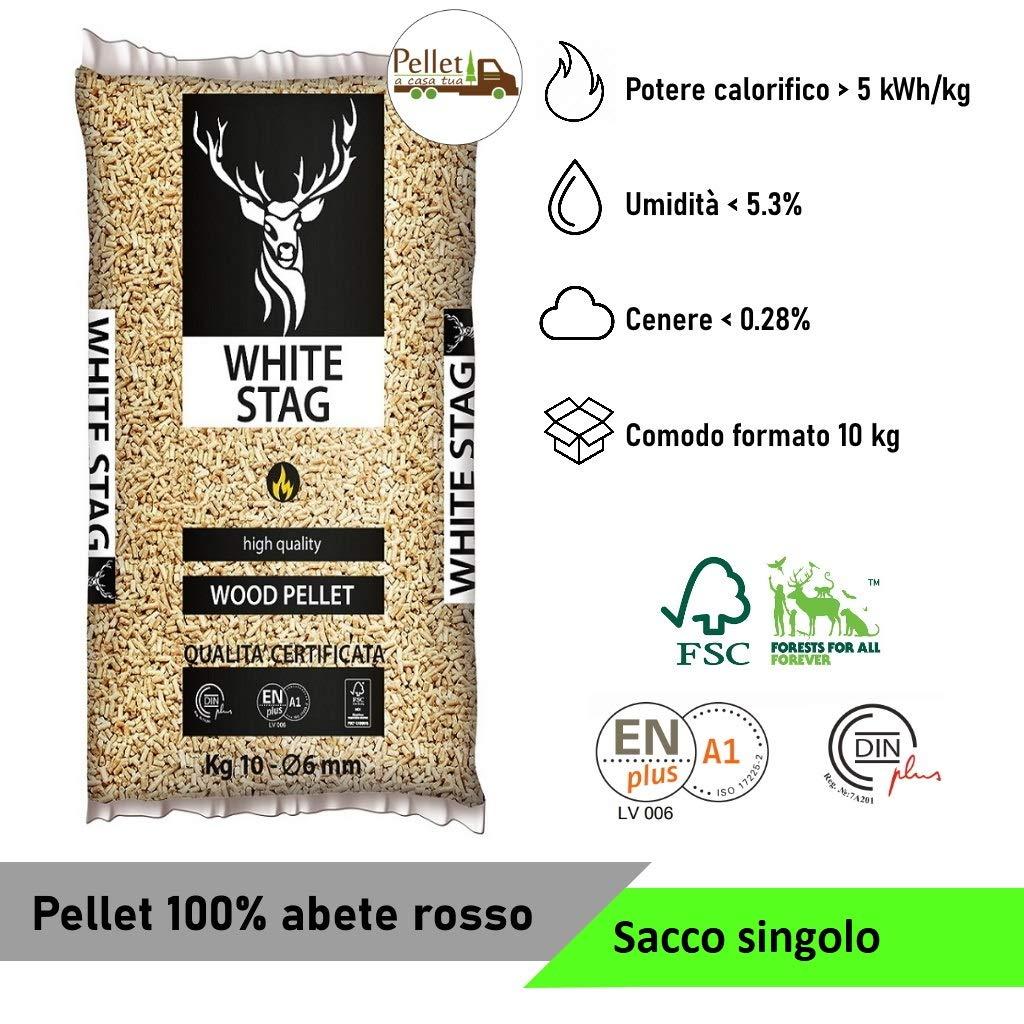 miglior pellet white stag